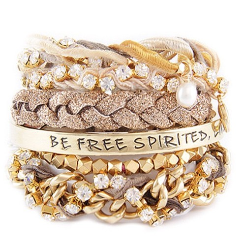 look at these pictures of stacked bracelets and tell me it isn t ...